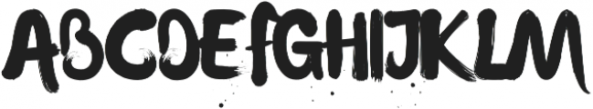 Waterlily otf (400) Font UPPERCASE