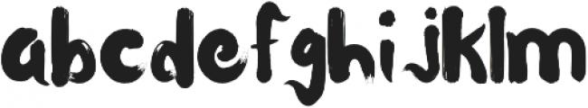 Waterlily otf (400) Font LOWERCASE