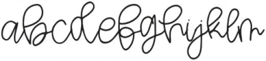 Watermelon Squeeze Script otf (400) Font LOWERCASE