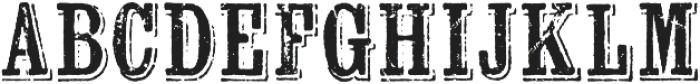 Wausau otf (400) Font UPPERCASE