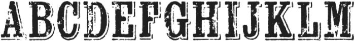 Wausau otf (400) Font LOWERCASE