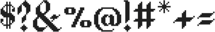 Waves Blackletter CPC Base otf (900) Font OTHER CHARS