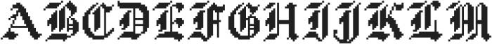 Waves Blackletter CPC Base otf (900) Font UPPERCASE
