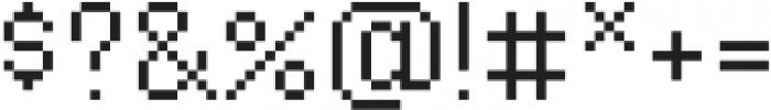 Waves Tiny CPC otf (400) Font OTHER CHARS