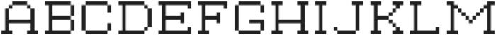 Waves Tiny Slab CPC Extended otf (400) Font UPPERCASE