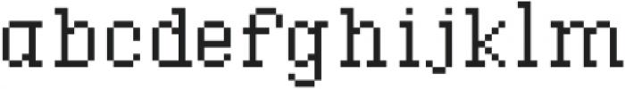 Waves Tiny Slab CPC otf (400) Font LOWERCASE