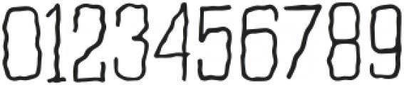 WavyLinesRegular otf (400) Font OTHER CHARS
