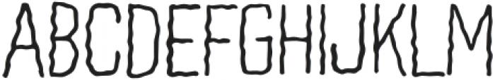 WavyLinesRegular otf (400) Font UPPERCASE