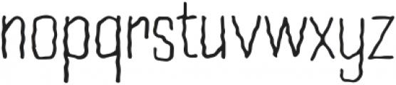 WavyLinesRegular otf (400) Font LOWERCASE