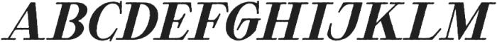 Waysider Rough Oblique otf (400) Font UPPERCASE