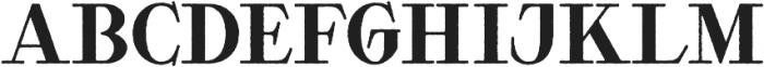 Waysider Rough otf (400) Font LOWERCASE