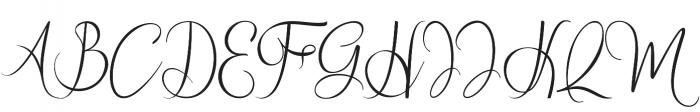 wallows otf (400) Font UPPERCASE