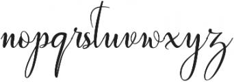 wallows ttf (400) Font LOWERCASE