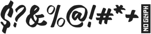 watshot script otf (400) Font OTHER CHARS