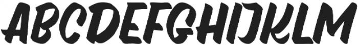 watshot script otf (400) Font UPPERCASE