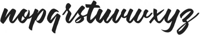 watshot script otf (400) Font LOWERCASE