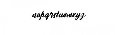 Wanita.ttf Font LOWERCASE