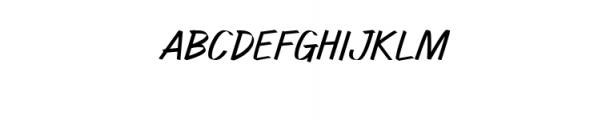 Watcher.ttf Font UPPERCASE