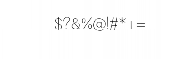 Wayago-Regular.ttf Font OTHER CHARS