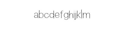 Wayago-Regular.ttf Font LOWERCASE