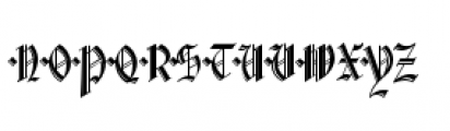Waldorf Monograms Bold Font LOWERCASE