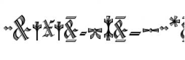 Waldorf Monograms Regular Font OTHER CHARS