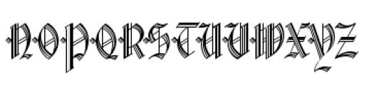 Waldorf Monograms Regular Font UPPERCASE