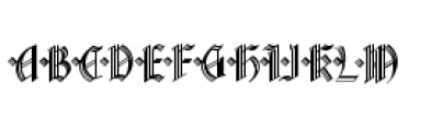 Waldorf Monograms Regular Font LOWERCASE