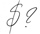 Wandering Hearts Script Duo Font OTHER CHARS