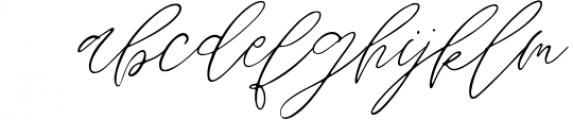 Wandering Hearts Script Duo Font LOWERCASE
