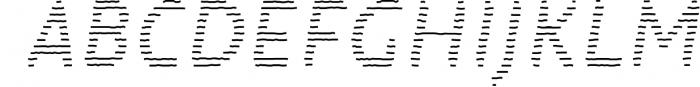 Warka 1 Font UPPERCASE