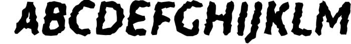 Warka Font UPPERCASE