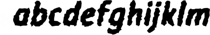 Warka Font LOWERCASE