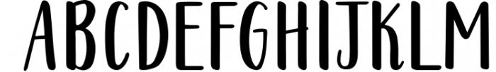 Warmheart Serif Font UPPERCASE