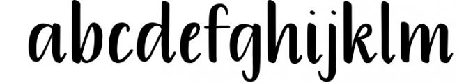 Warmheart Serif Font LOWERCASE