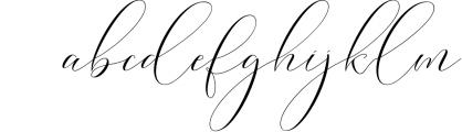Washington Calligraphy Modern Font LOWERCASE