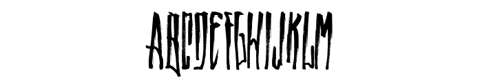 WALLRIDE Font UPPERCASE