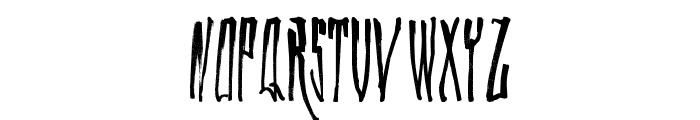 WALLRIDE Font LOWERCASE