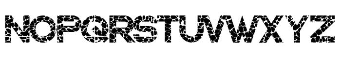 WALLSTONES-Regular Font UPPERCASE