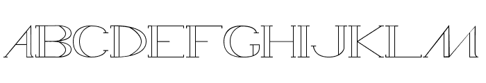 WAMED Font UPPERCASE