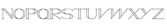 WAMED Font LOWERCASE