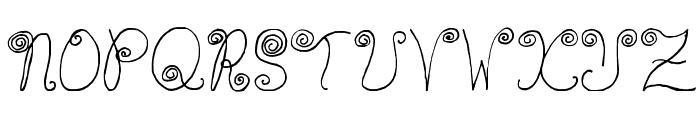 WaaibergSM Font UPPERCASE