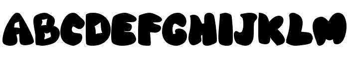 Wab Font UPPERCASE