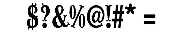 Wacam?ler-Caps Font OTHER CHARS