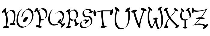 Wacko Font UPPERCASE