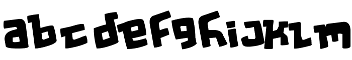 Wacky Spankers Font LOWERCASE