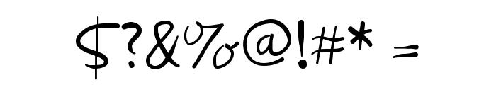 Wacomiqua67 Font OTHER CHARS