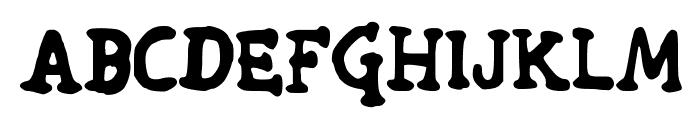 Wade Font UPPERCASE