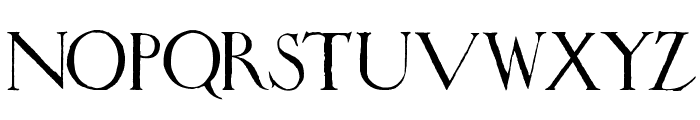 Wadsworth's_Industria Font LOWERCASE