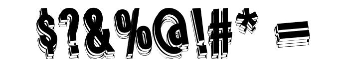 Wafer Regular Font OTHER CHARS